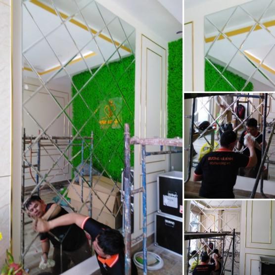 Gương treo tường A123456789A127