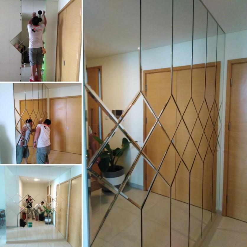 Gương treo tường A123456789A18