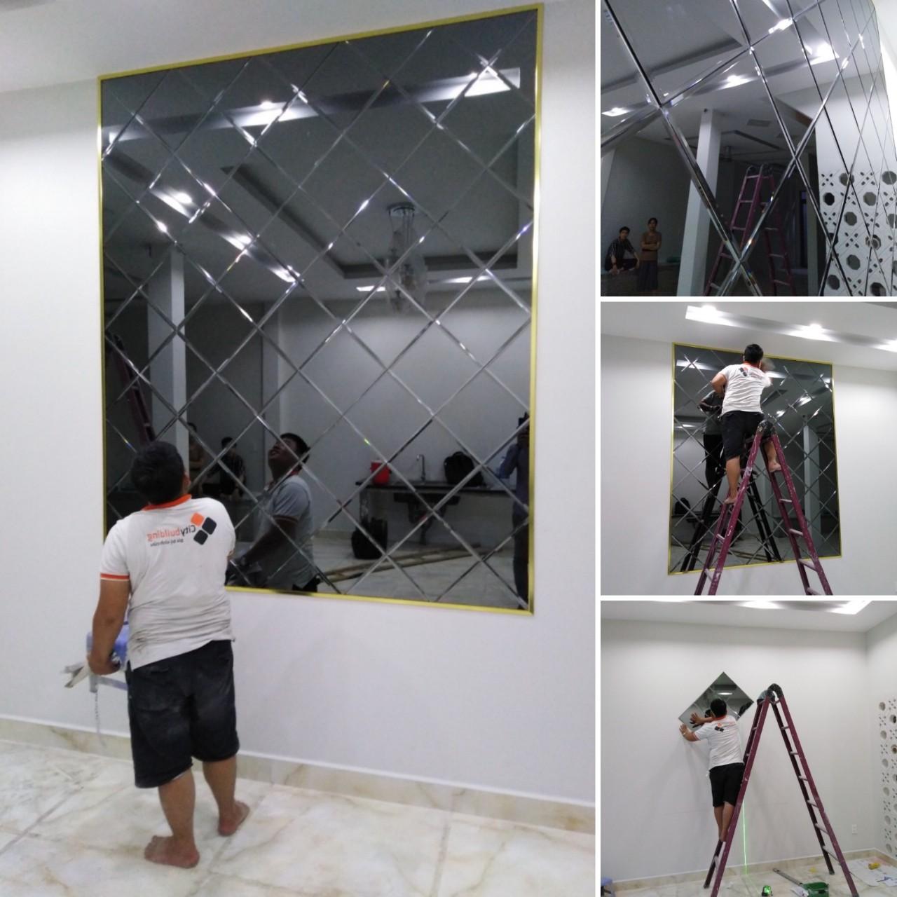 Gương treo tường A123456789A23